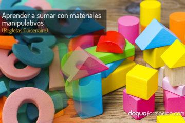 Aprender a sumar con materiales manipulativos